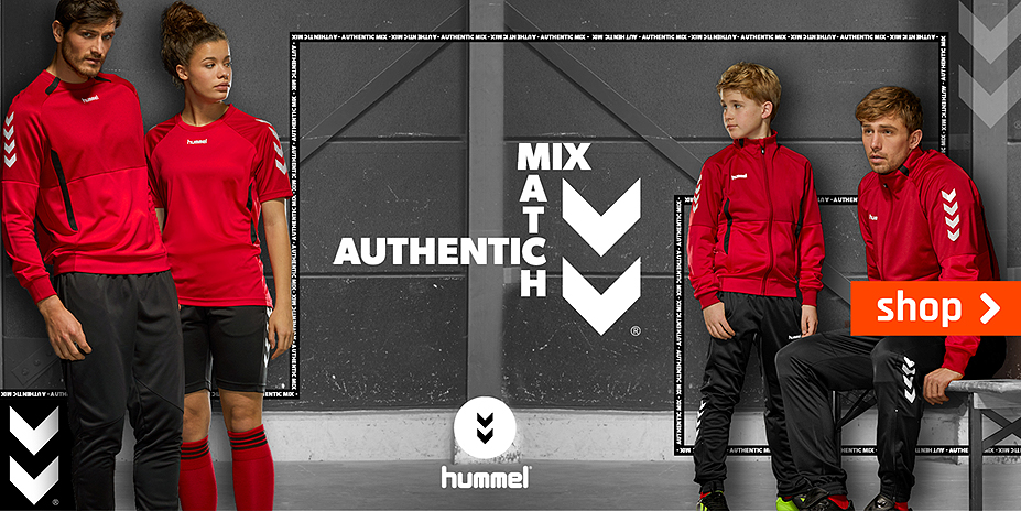 Mix en match met hummel Authentic